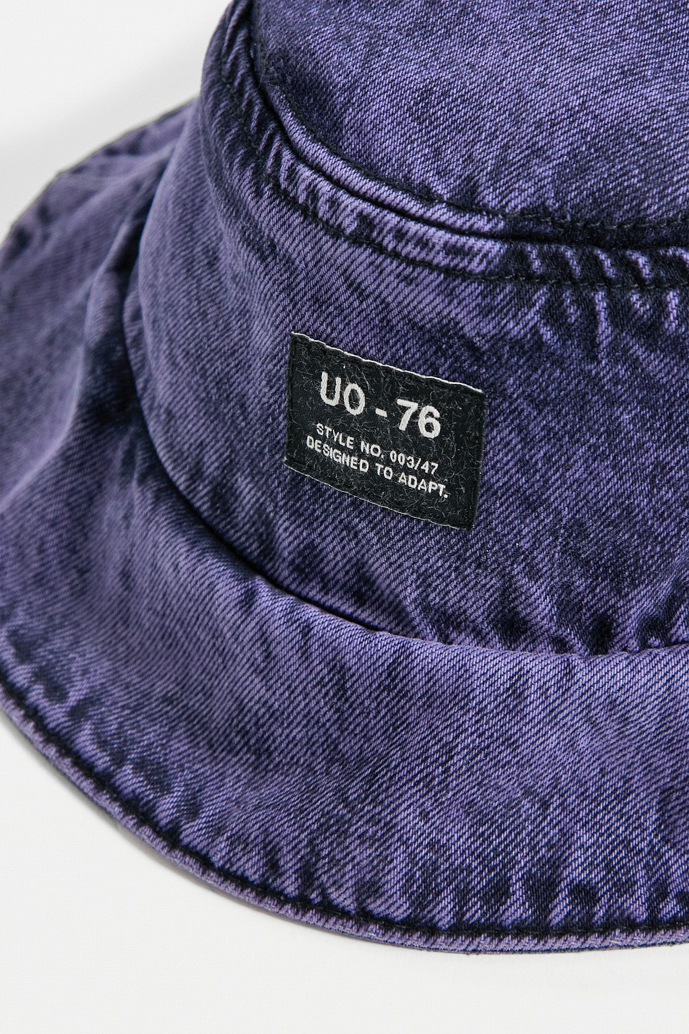 Uo Purple Washed Denim Bucket Hat Urban Outfitters Uk Denim Wash Denim Bucket Hat Hats