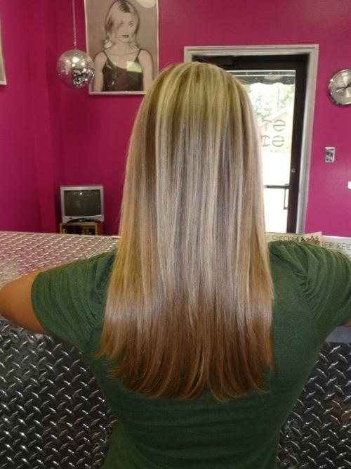 20 sweet blonde highlights on brown hair pictures hair colors pinterest frisuren halblang. Black Bedroom Furniture Sets. Home Design Ideas