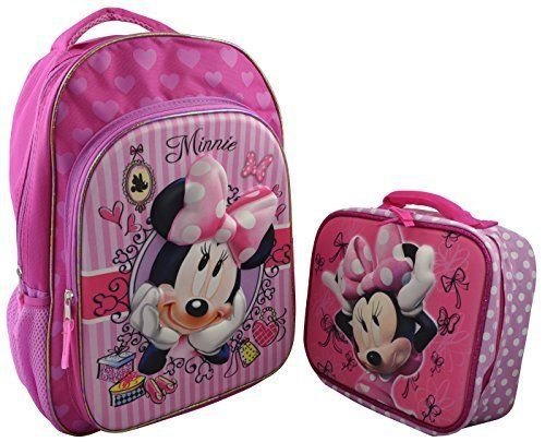277e27c1f08c Disney Minnie Mouse Girl s3D Pop out Large 15.5