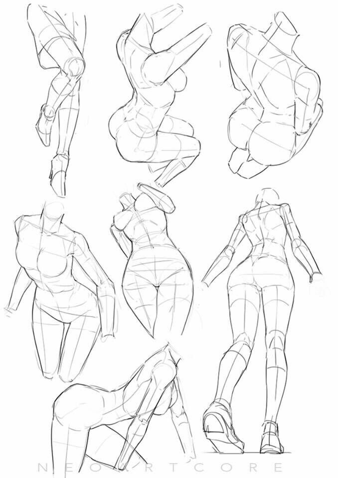 Pin by S Ξ R on Tutorial & Reference | Pinterest | Drawings, Pose ...