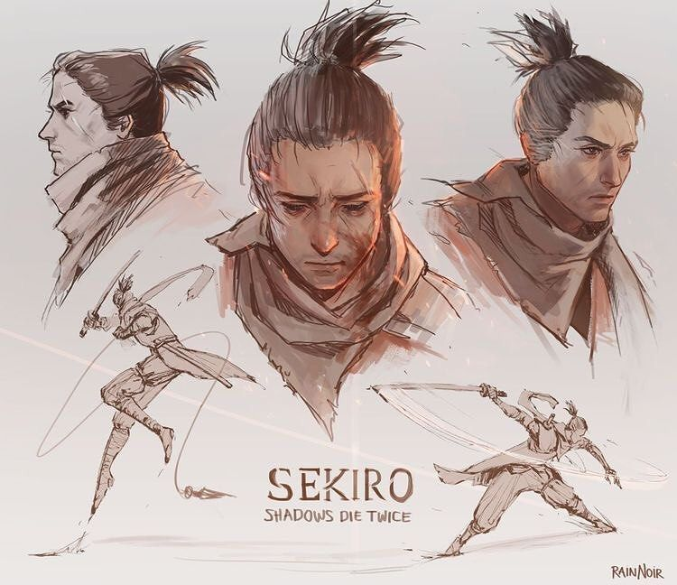 Sw Engineer Music Buff Gamer On Instagram Wolf Sekiro Shadows Die Twice Check The Story For The Full Size Credits To Own Dark Souls Soul Saga Shadow