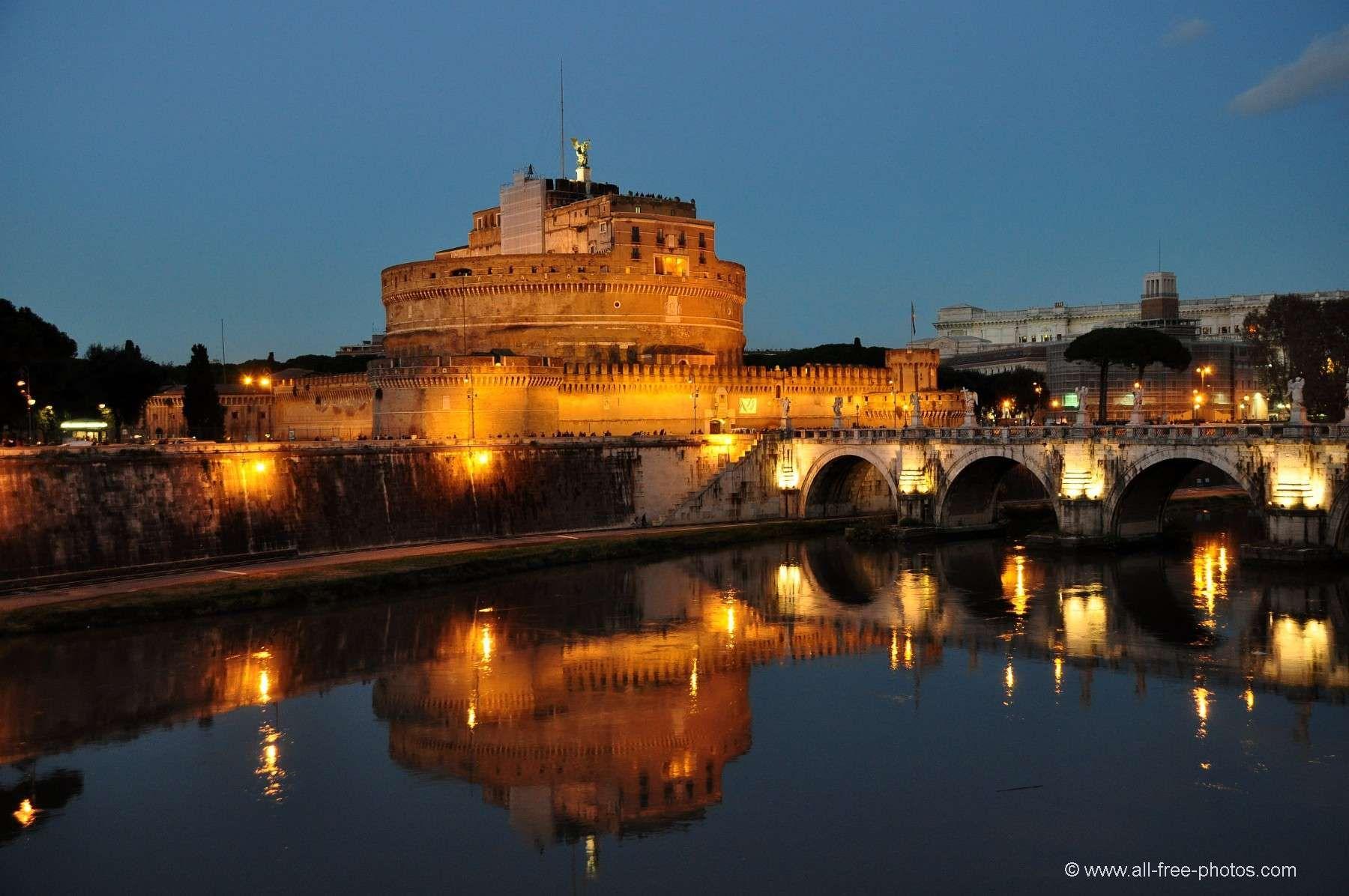 Photo: Château Saint Ange - Rome - Italie | Castel sant ...