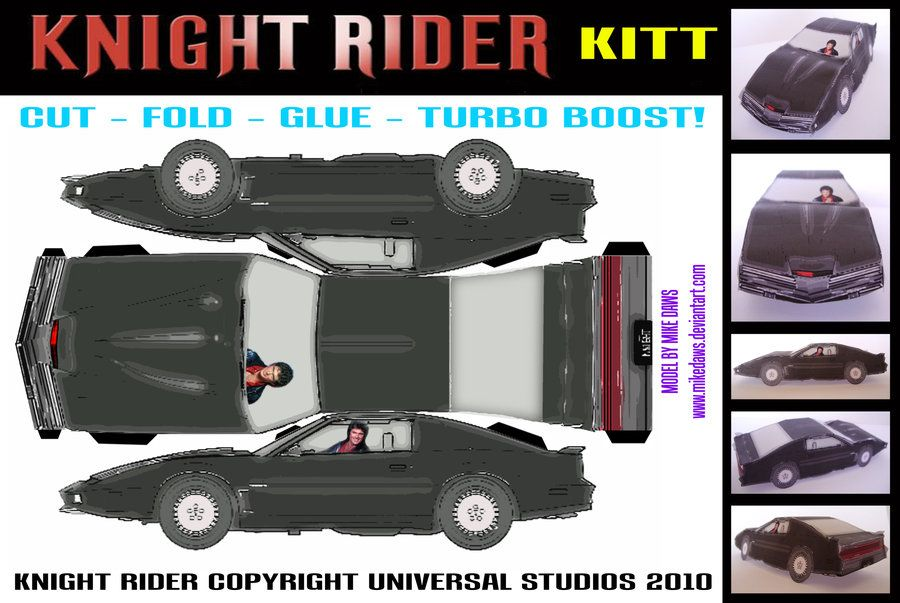S Schematic On How To Build Your Own Kitt Car