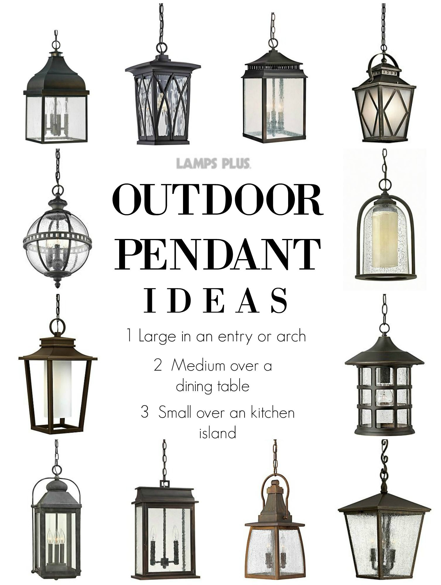 Outdoor Lighting Pendant Ideas From Lampsplus