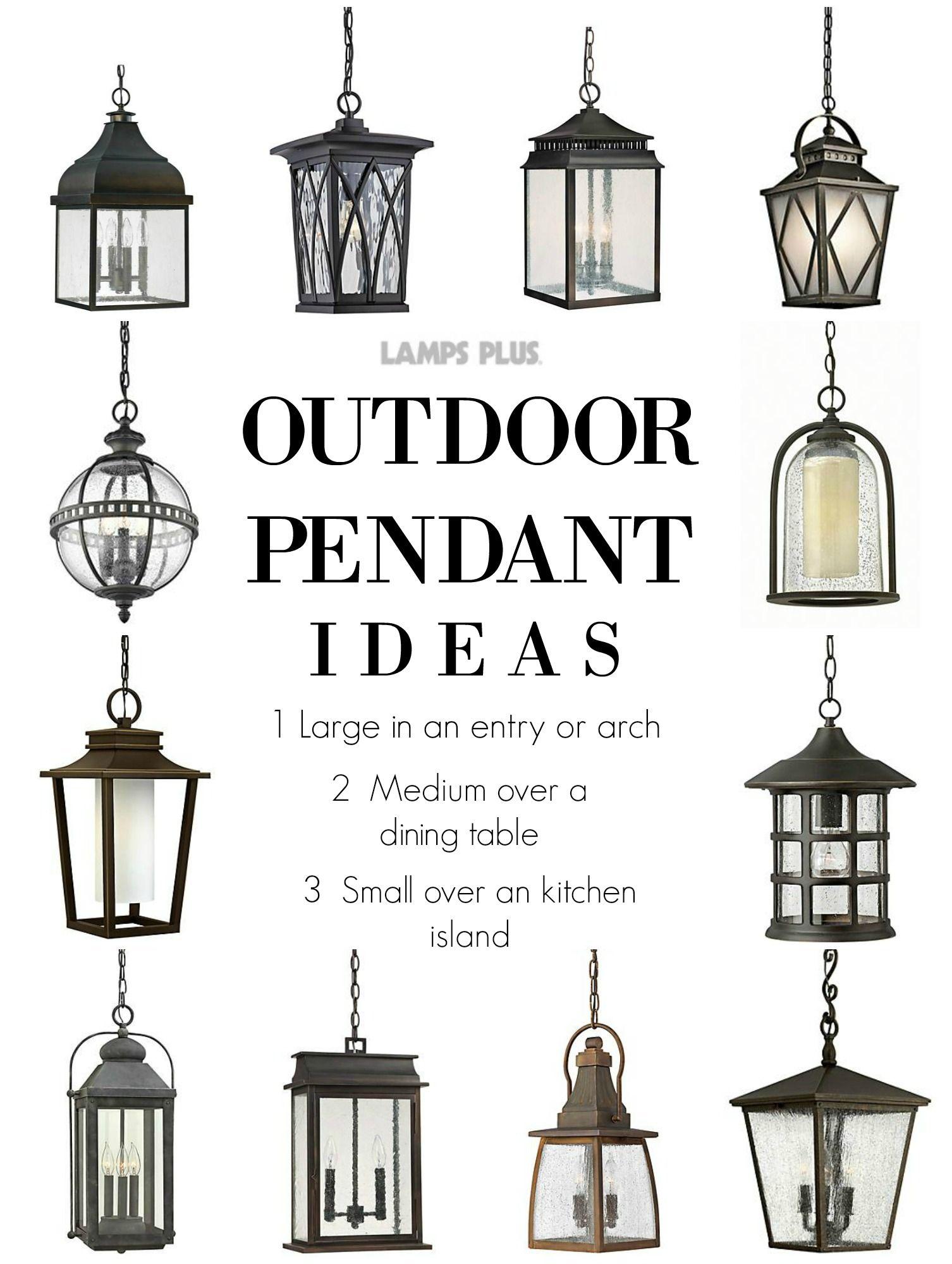 Outdoor Lighting Outdoor Pendant Ideas From Lampsplus