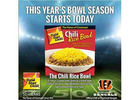 Get A Free Gold Star Chili Rice Bowl Get It Free Freebies Deals Coupons Gold Star Chili Chili Rice Star Snacks
