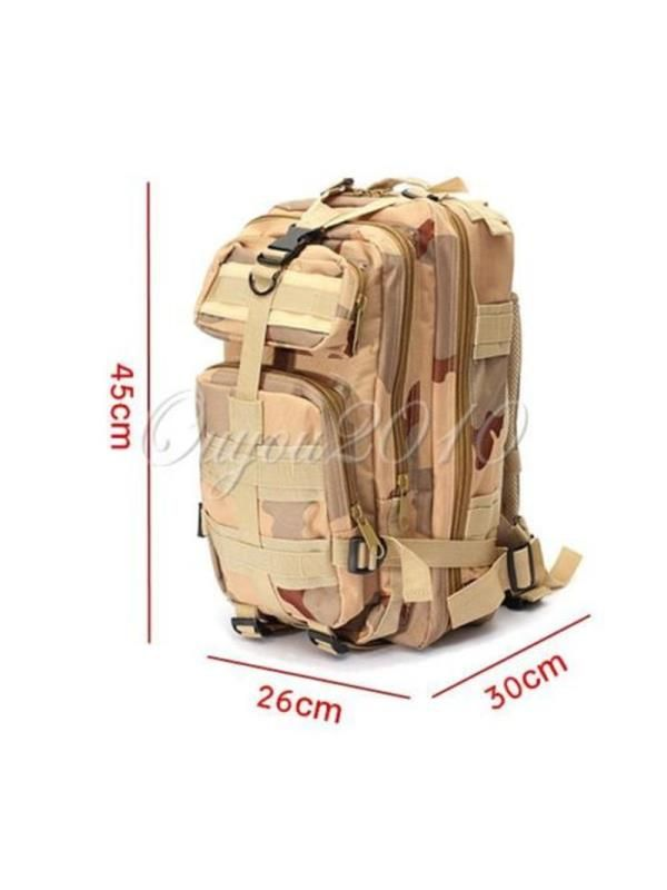 1000D Nylon 8 Colors 30L Waterproof Outdoor Military Rucksacks Tactical  Hydration Packs Backpack Sports Camping Hiking Trekking Fishing Hunting Bag  Military ... 9ff21e4d4a8a3