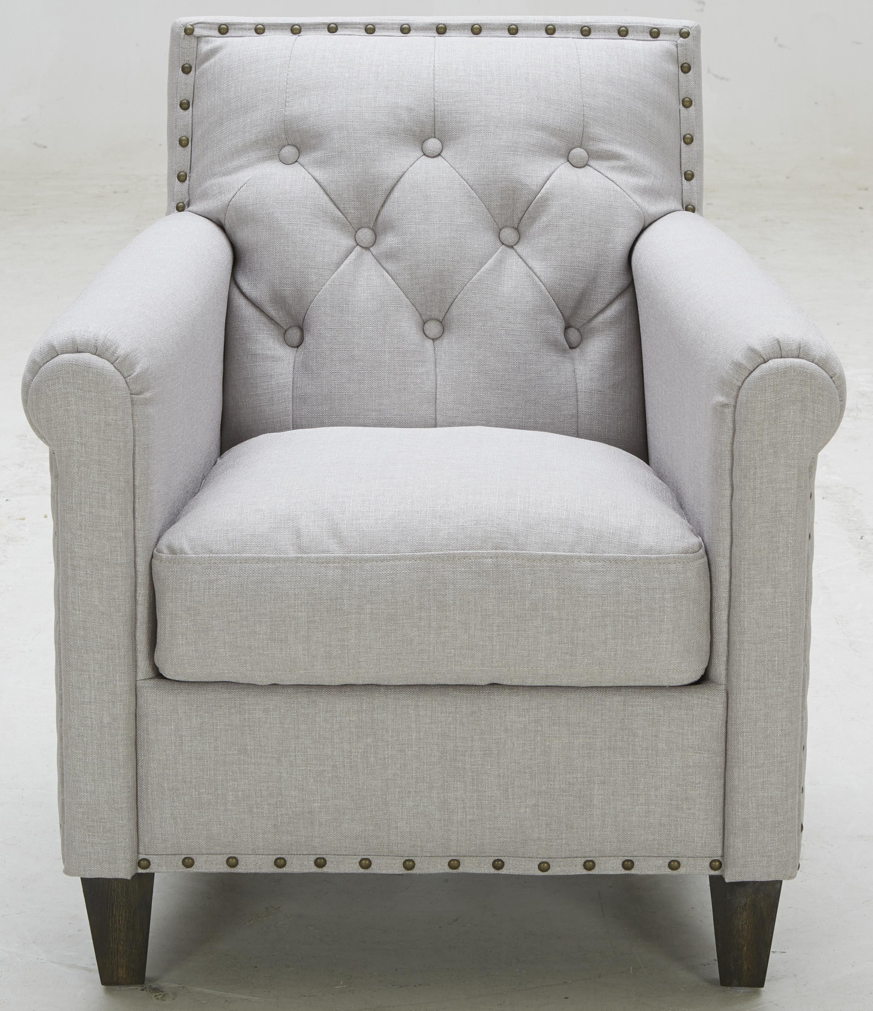 A 655 Tufted Chair by Kuka Home Dining Room