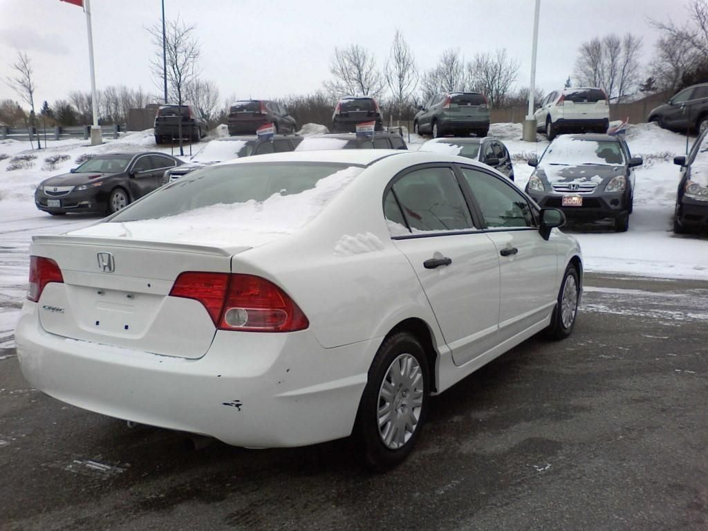 2008 Honda Civic White Mileage 92 323 Km