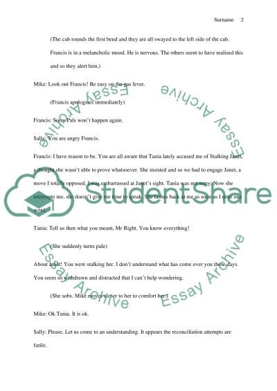 conversation essay writing