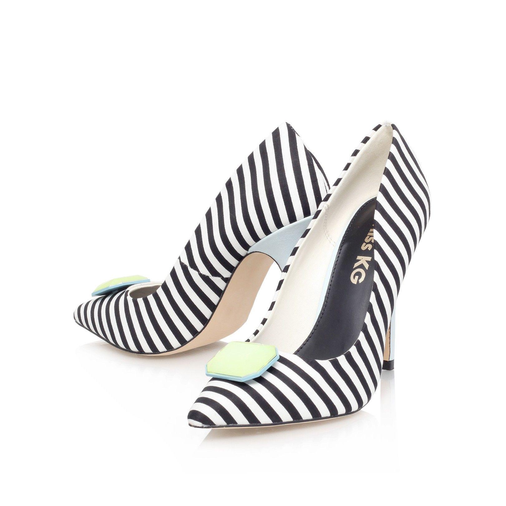 aubrey, black shoe by miss kg