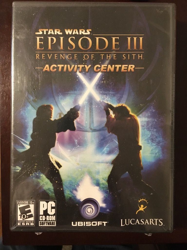 Episode Iii Revenge Of The Sith Activity Center Star Wars Episodes Star Wars Video Games Star Wars Episode Ii