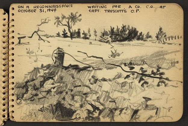 On a reconnaissance, October 31, 1944