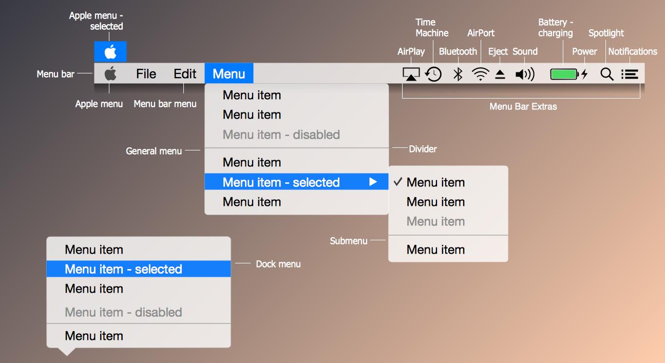 Mac os x user interface design os x 1010 yosemite menus mac os x user interface design os x 1010 yosemite menus nvjuhfo Image collections