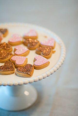 Glitter biscuits- sooo puuurty