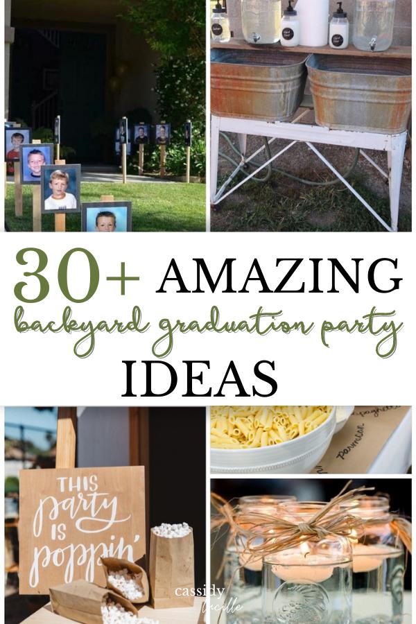 33 Absolute Best Backyard Graduation Party Ideas That Are Affordable In 2021 Backyard Graduation Party Graduation Party Games Diy Graduation Party Decor