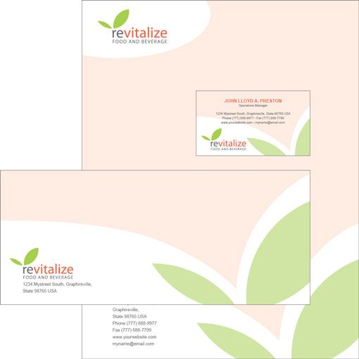 Free download of InDesign templates for business cards - letterheads templates free download