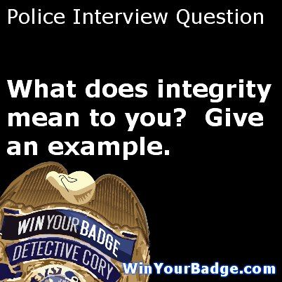 100u0027s Of Police Interview Questions And Answers.