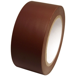 Dark Brown Vinyl Tape 2 X 36 Yard Roll Vinyl Rubber Resin Pvc Adhesive