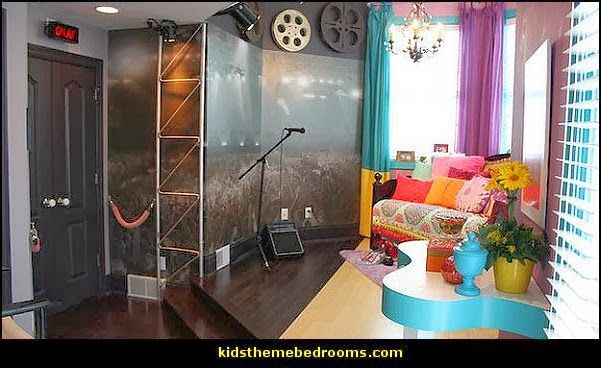 Rock Themed Bedroom Bedroom Decorating Ideas Rock Star - Music themed bedroom decorating ideas