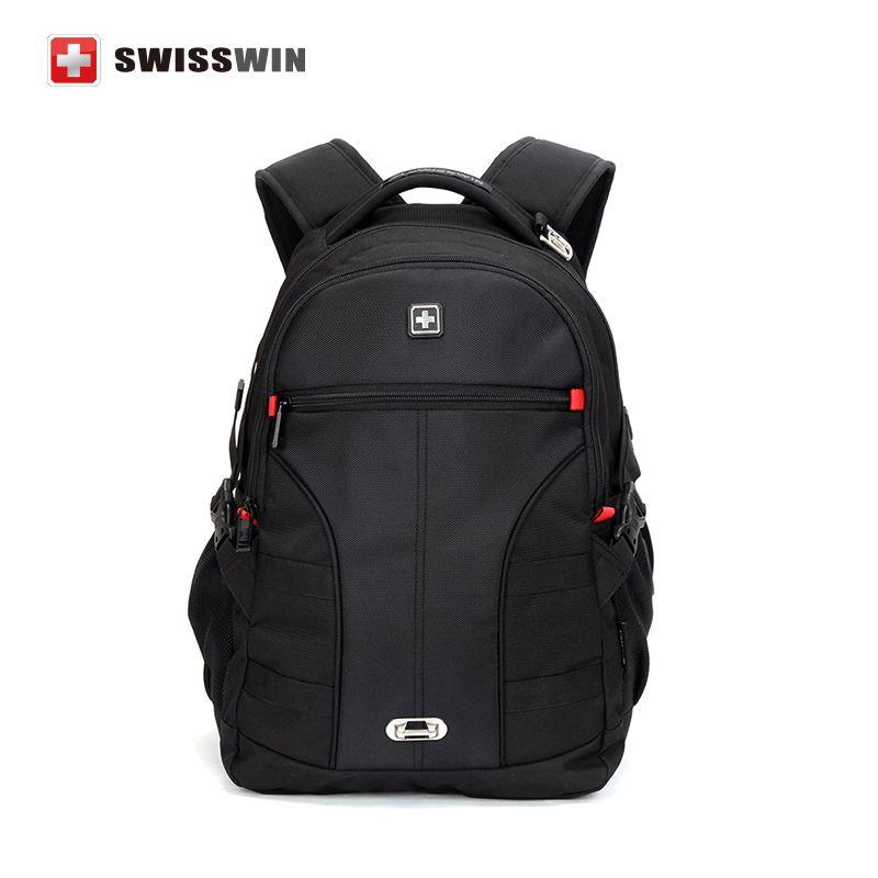 Hot Sale Swiss Gear Backpack Multifunction Men's Backpacks 15 ...