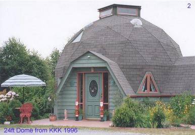 I Want To Make My Own Geodesic Dome House With A Kwickset Konstruction Kit
