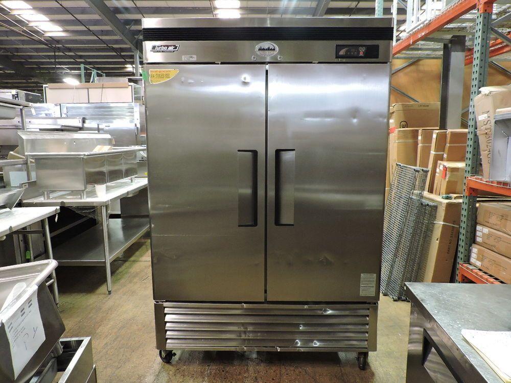 Turbo Air Tsf 49d Commercial Reach In Solid 2 Door Freezer Turboair Restaurant Equipment French Door Refrigerator Refrigerator