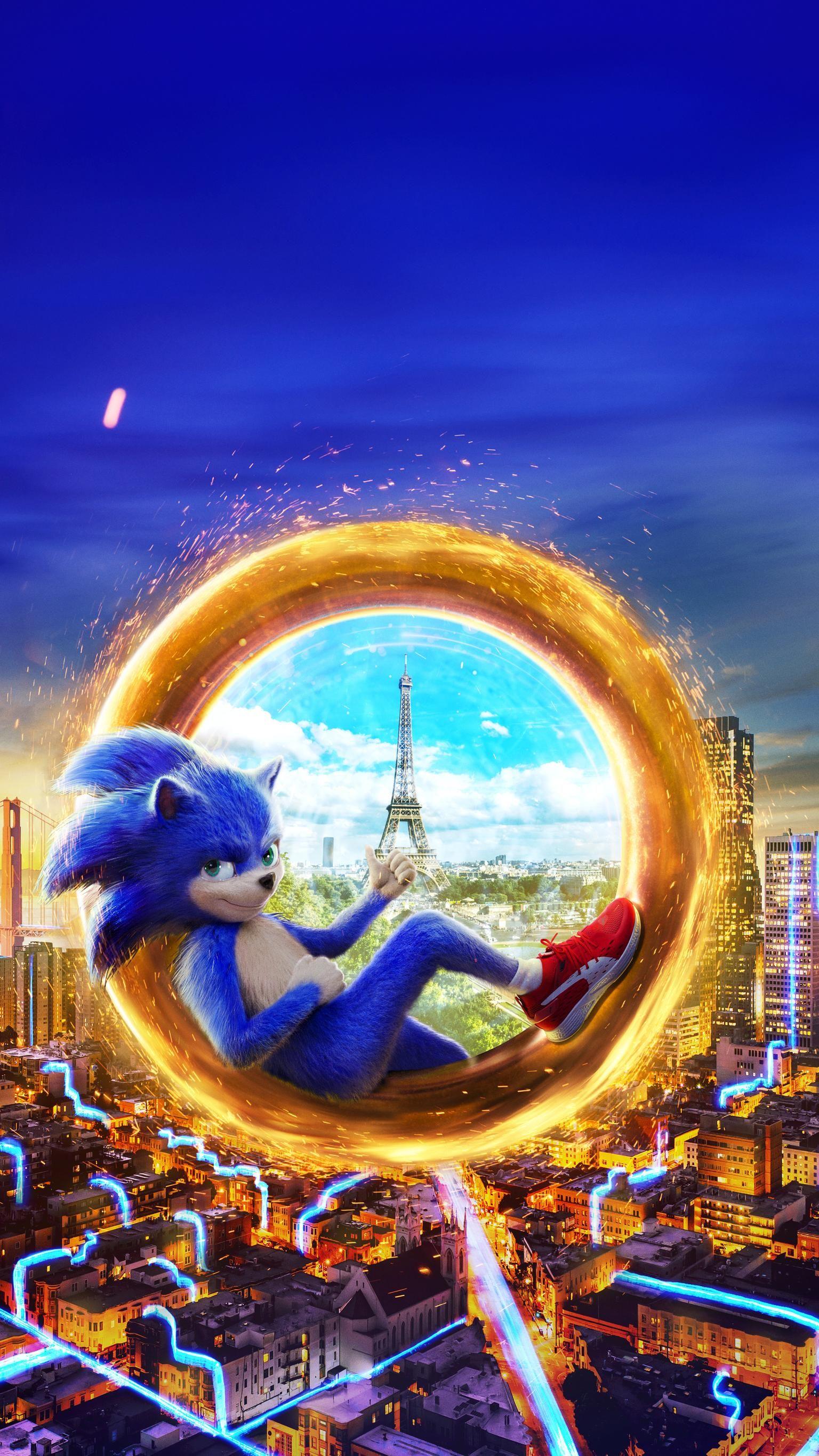 Sonic The Hedgehog 2020 Phone Wallpaper Moviemania Movie Wallpapers Hedgehog Movie Sonic The Movie