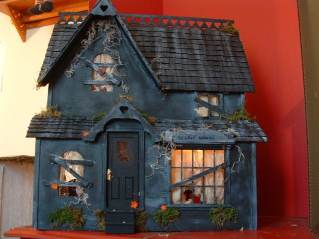 This gives me ideas, ones I probably shouldn't have, for my doll house upstairs... Haunted Dollhouse BrookField1 by *DollzMaker on deviantART #haunteddollhouse