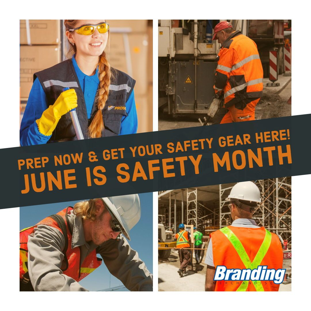 Prep now get your branded safety gear here branding