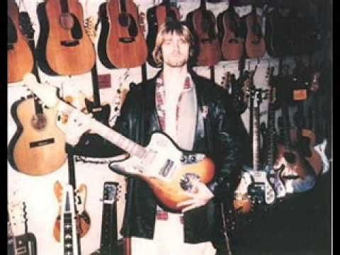 Kurt checking out guitars