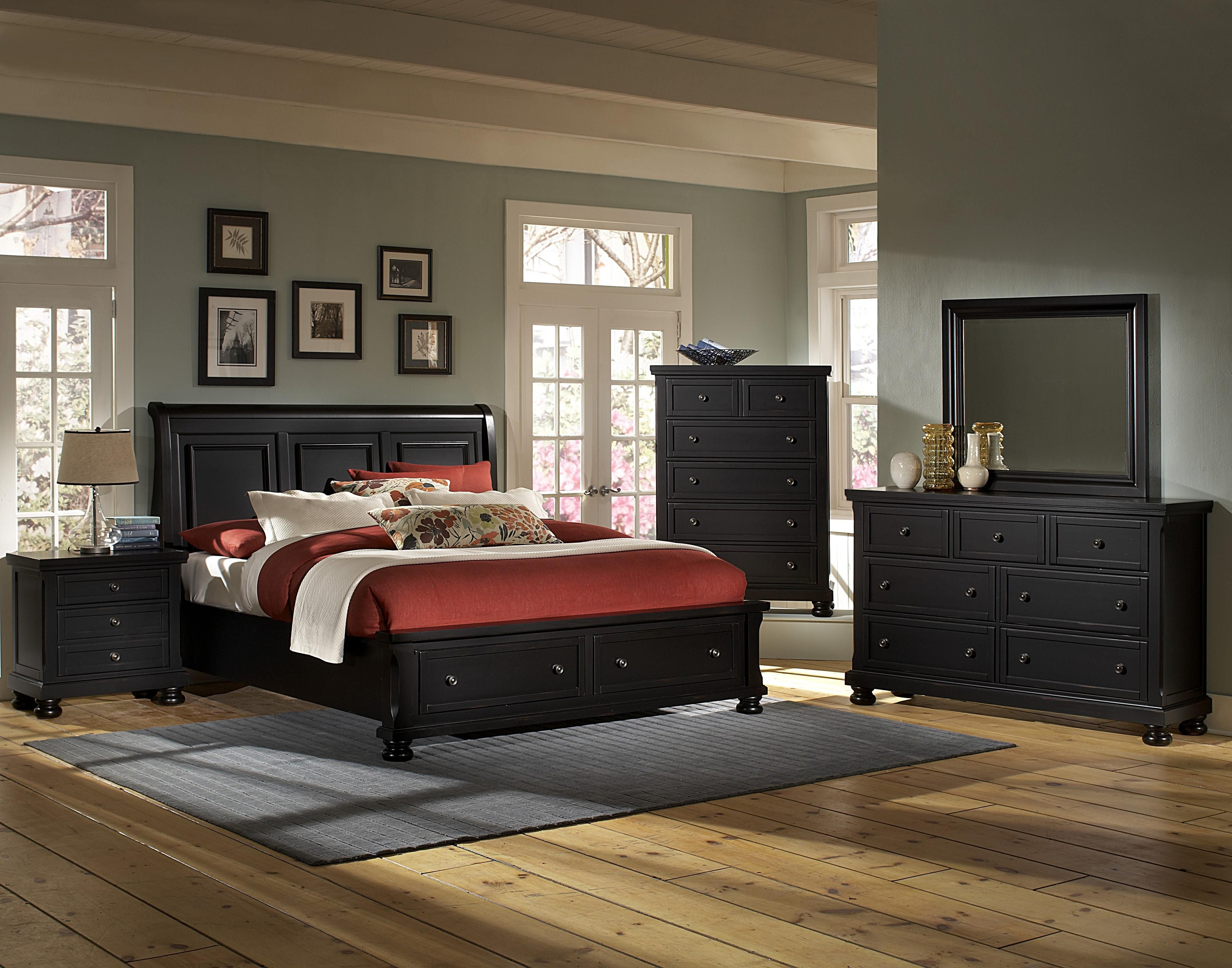 Reflections King Bedroom Group by Vaughan Bassett | Furniture for ...