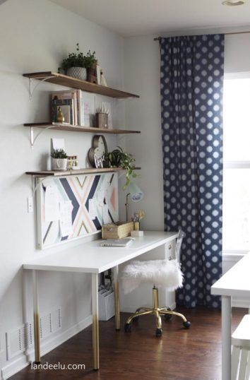 Anyone who can sew a straight line straight-ish line can make these easy sew curtains! Make curtains yourself that are completely custom AND a fraction of the cost of store bought curtains! #DIYCurtains    #EasyDIYCurtains