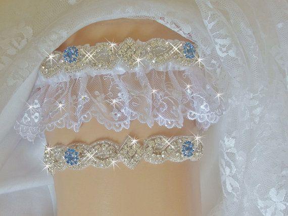 c5fb2d14c52 French Lace Wedding Garter Set