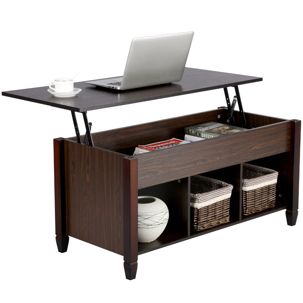 Smilemart Modern Wood Lift Top Coffee Table With 3 Storage Compartments Espresso Walmart Com Wood Lift Top Coffee Table Coffee Table With Hidden Storage Coffee Table [ 1000 x 1000 Pixel ]
