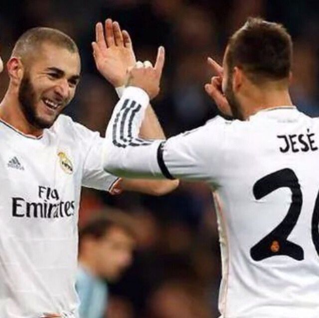 Karim Benzema & Jese #RealMadrid