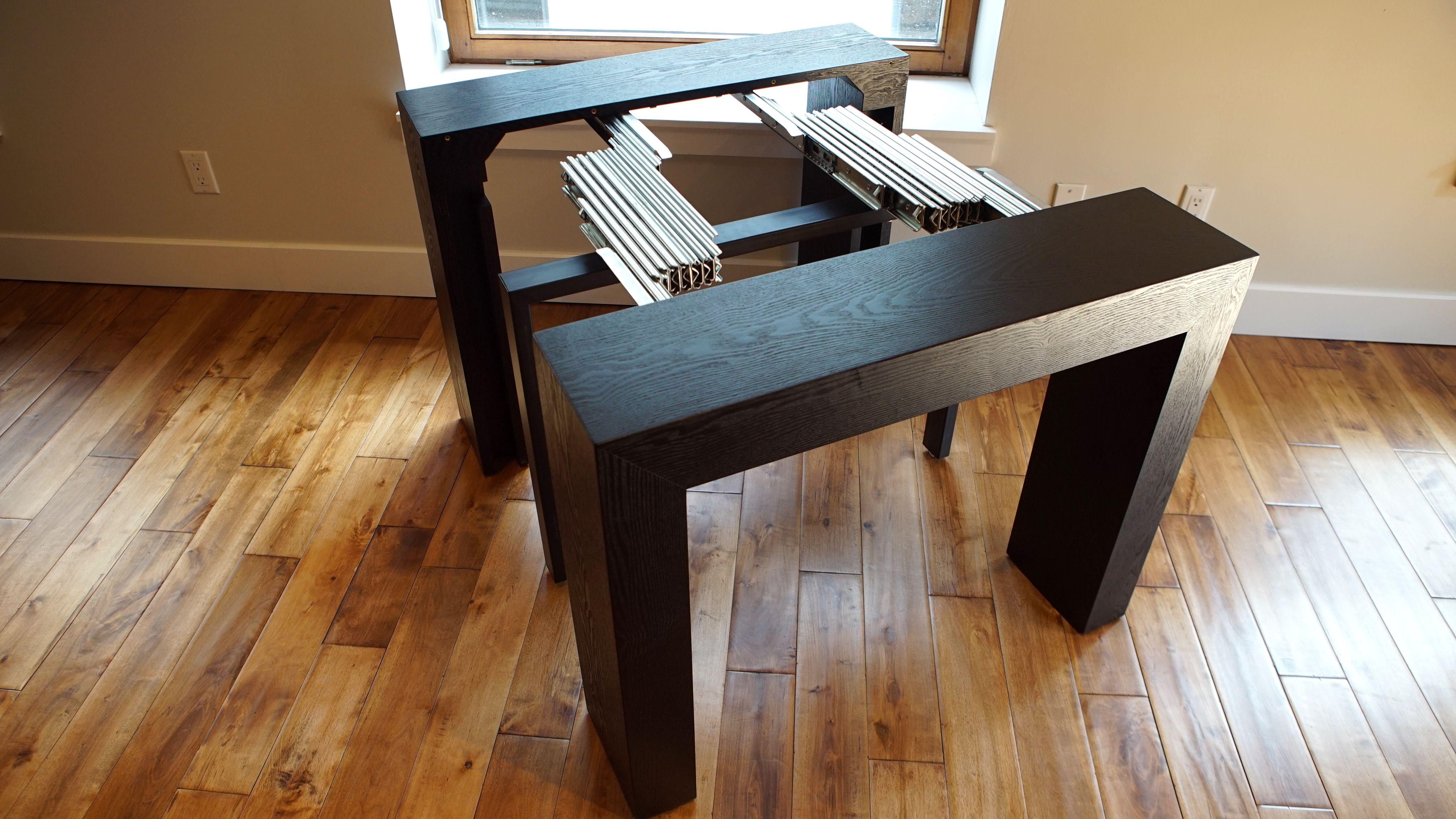 The Blackwood Transformer Table! Extendable Table!