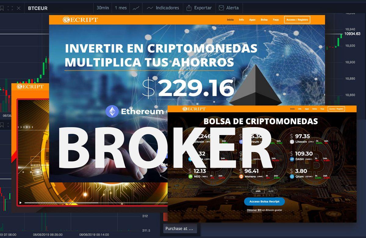 bitcoin brokeris internete