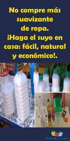 No Compre Mas Suavizante De Ropa Haga El Suyo En Casa Facil