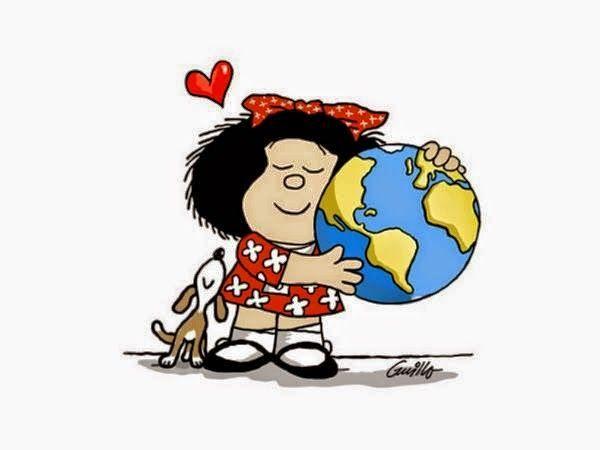 Resultado de imagen de geografia mafalda