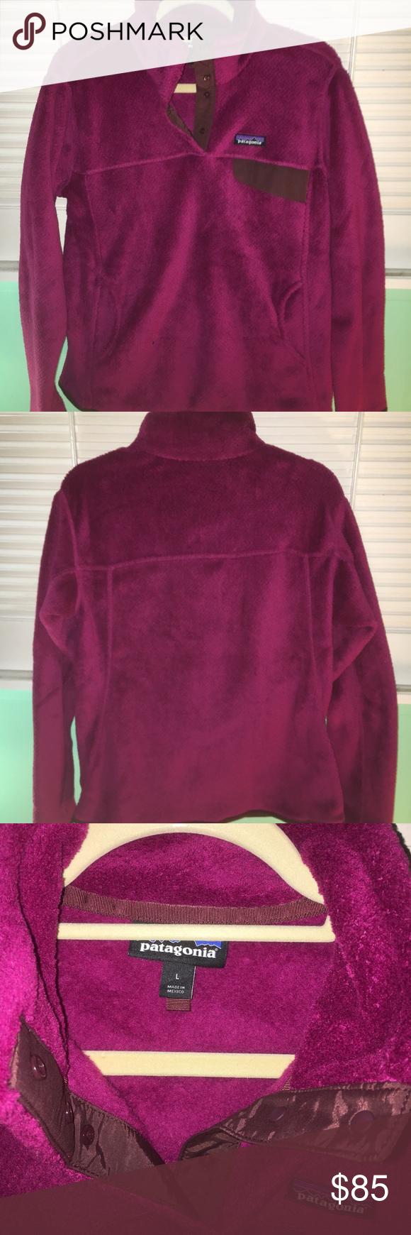 Patagonia womenus retool snapt fleece pullover in my