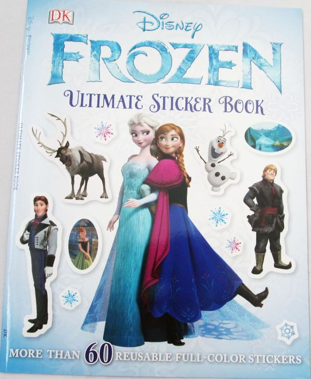 Disney English original DK Sticker Book Disney FROZEN ULTIMATE STICKER BOOK- Taobao
