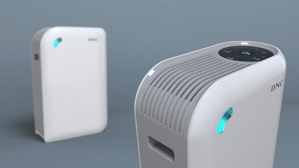 Air Purifier concept on Behance