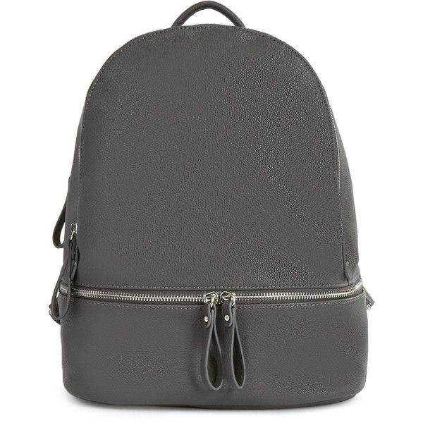 ShoeDazzle Bags Chadwick Backpack Womens Gray ❤ liked on Polyvore featuring  bags, backpacks, grey, handbags, wallets   cases, knapsack bag, backpack  bags, ... be6ae7391e