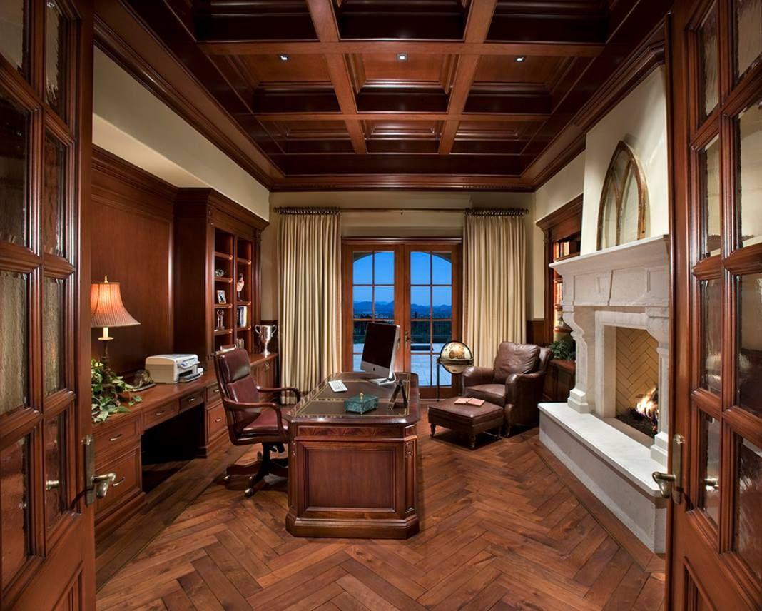Parquet en chêne parfait pour un bureau à domicile en bois
