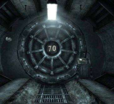 Fallout Vault Door vault door 70 | fallout | pinterest | vault doors, fallout and