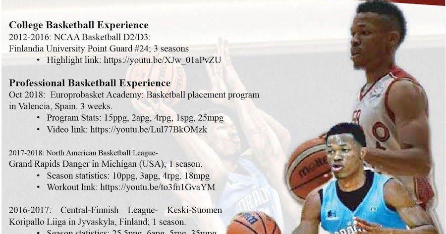 Basketball Player Resume 2019 Professional Basketball Player Resume Templates 2020 Basketball Player Resume Exam Basketball Players Resume Templates Basketball