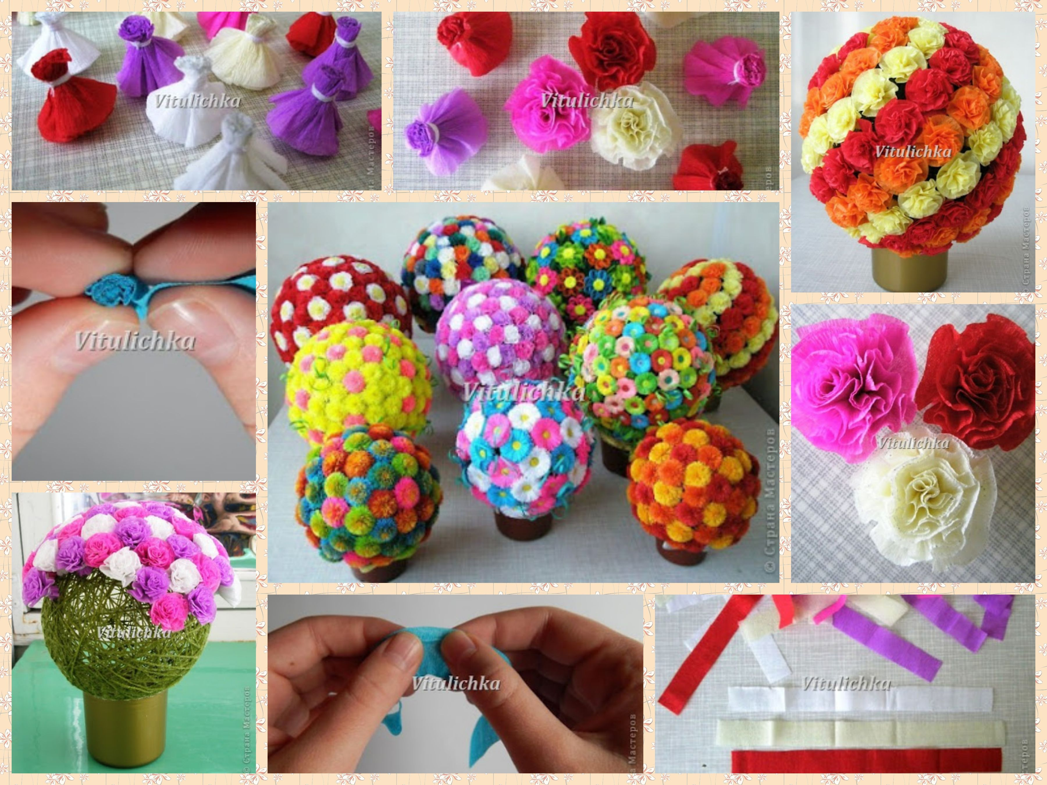 Flower bunch made with paper flowers do it yourself pinterest flower bunch made with paper flowers do it yourselfpaper flowers mightylinksfo Images
