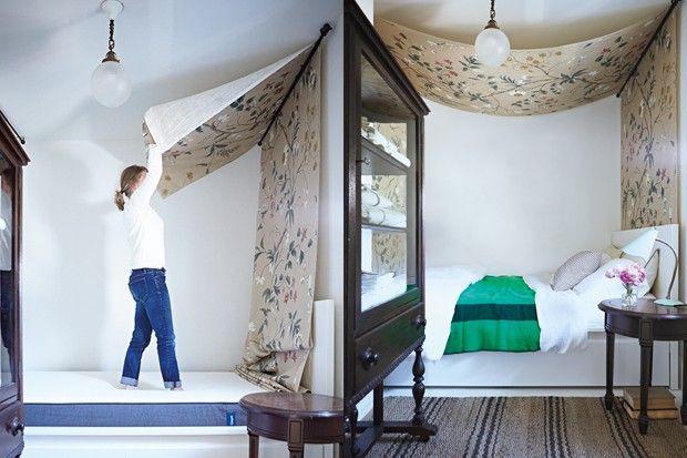projet faire soi m me cr er un baldaquin baldaquin faire soi meme et cr er. Black Bedroom Furniture Sets. Home Design Ideas