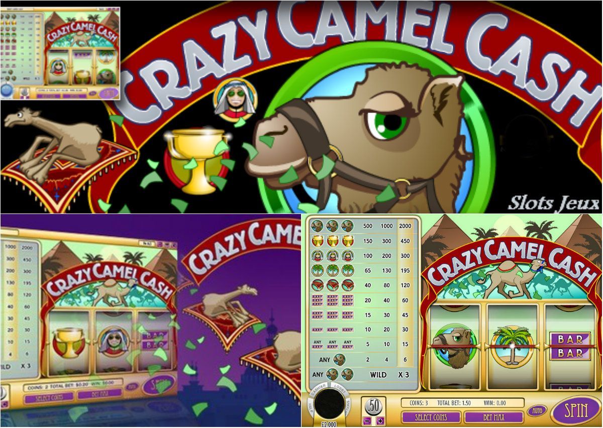 Presenting crazy camel cash a classic jeuxdeslots enjoy playing and come with us on a
